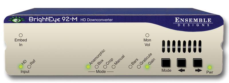 BrightEye 92-M HD Downconverter from Ensemble Designs