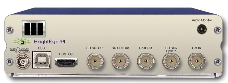 BrightEye 94 SD Aspect Ratio Converter from Ensemble Designs