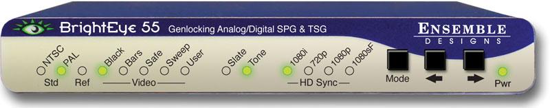 BrightEye 55 Genlockable Sync Generator/Test Signal Generator from Ensemble Designs