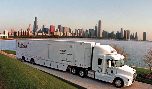 Trio Video's HD Tango Truck with Ensemble Designs BrightEye and Avenue video equipment