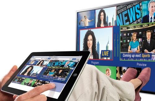 Avenue MV82 Mutliviewer and iPad UI