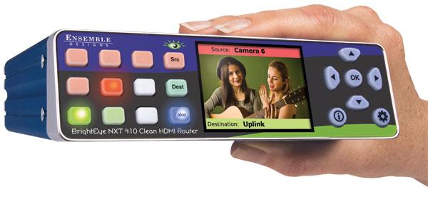BrightEye NXT 410 Clean HDMI Router from Ensemble Designs