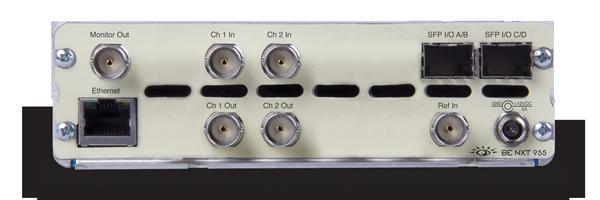 BrightEye NXT 955 2 Channel SDI Frame Sync & U/D/C - Ensemble Designs